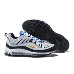Supreme x NikeLab Air Max 98 Sneakers Basse da Uomo - Bianco Nero