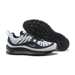Supreme x NikeLab Air Max 98 Sneakers Basse da Uomo - Nero Bianco