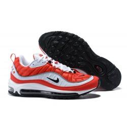 Supreme x NikeLab Air Max 98 Sneakers Basse da Uomo - Rosso Bianco