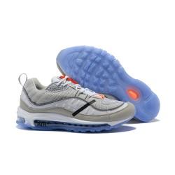 Supreme x NikeLab Air Max 98 Sneakers Basse - Grigio Blu