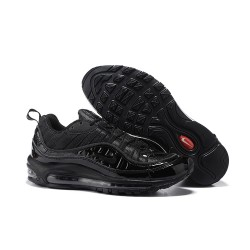 Sneaker da Running Supreme x NikeLab Air Max 98 - Tutto Nero
