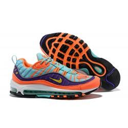 Sneaker da Running Supreme x NikeLab Air Max 98 - Arancio Viola Blu
