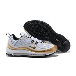 Sneaker da Running Supreme x NikeLab Air Max 98 - Bianco Oro
