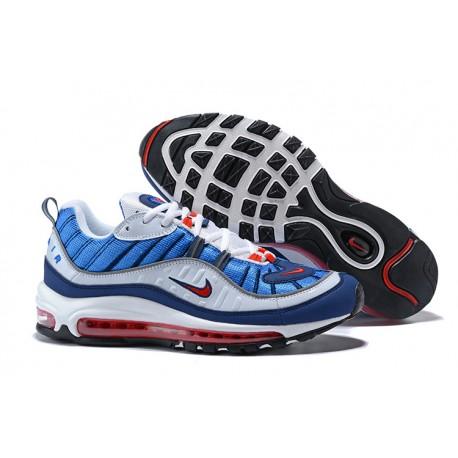 new style e94d5 7f7d3 Sneaker da Running Supreme x NikeLab Air Max 98 - Blu Bianco