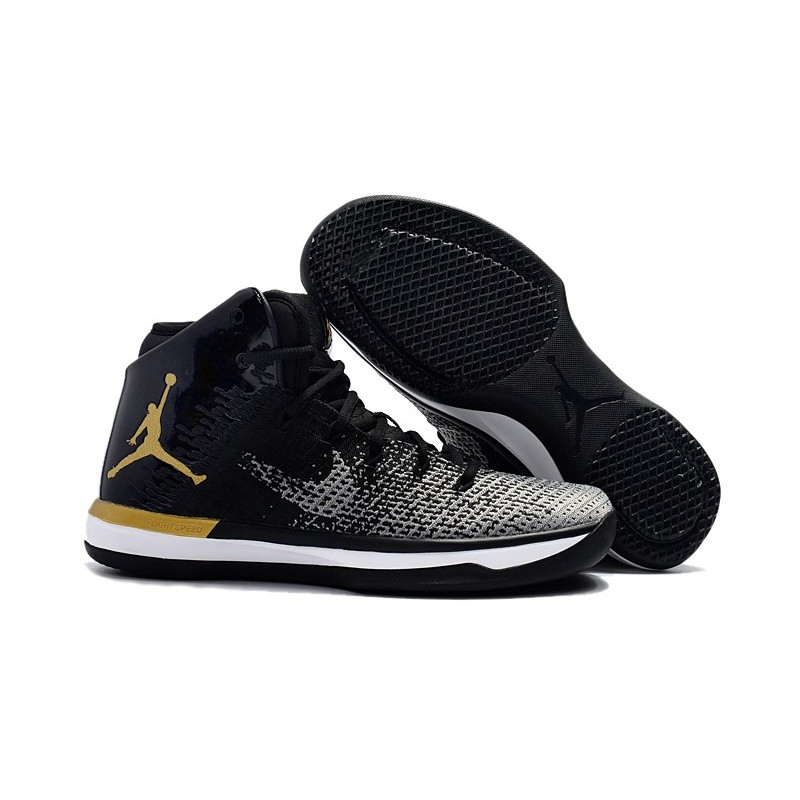 Da Jordan Basket Nike Nero Scarpe 31 Air Oro Mn8nv0w 76gfby