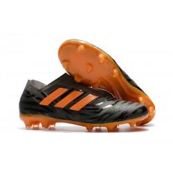 Scarpa adidas Nemeziz Leo Messi 17+ 360 Agility FG - Nero Arancio