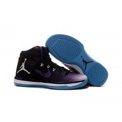 Nike Air Jordan XXXI Scarpa da Basket Uomo - Nero Viola Blu