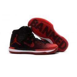 Nike Air Jordan XXXI Scarpa da Basket Uomo - Nero Rosso