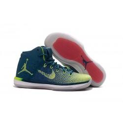Nike Air Jordan XXXI Scarpa da Basket Uomo - Blu Verde