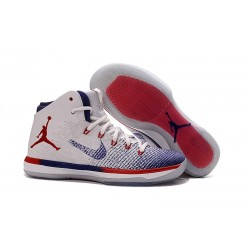 Nike Nuovo Scarpe da Basket Air Jordan 31 - Bianco Rosso Blu