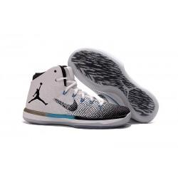 Nike Nuovo Scarpe da Basket Air Jordan 31 - Bianco Nero Blu