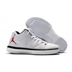 Nike Air Jordan XXXI Bassa Scarpa da Basket - Bianco Nero
