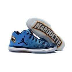 Nike Air Jordan XXXI Bassa Scarpa da Basket Marquette - Blu