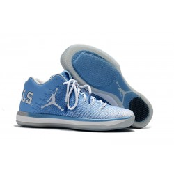 Nike Air Jordan XXXI Bassa Scarpa da Basket - Blu Bianco