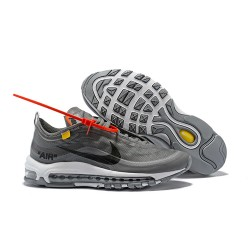 Nike x OFF WHITE Air Max 97 Scarpa - Grigio Nero