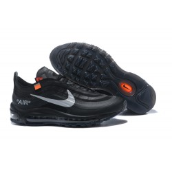 Nike x OFF WHITE Air Max 97 Scarpa - Nero Metallico