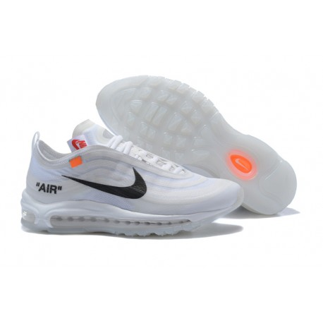 Nike x OFF WHITE Air Max 97 Scarpa - Bianco Nero