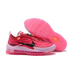 Nike x OFF WHITE Air Max 97 Scarpa - Rosa Nero