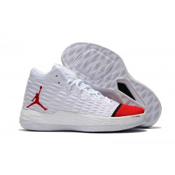 Nike Jordan Melo M13 Carmelo Anthony Scarpe da Basket - Bianco Rosso