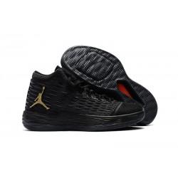Nike Jordan Melo M13 Carmelo Anthony Scarpe da Basket - Nero Oro