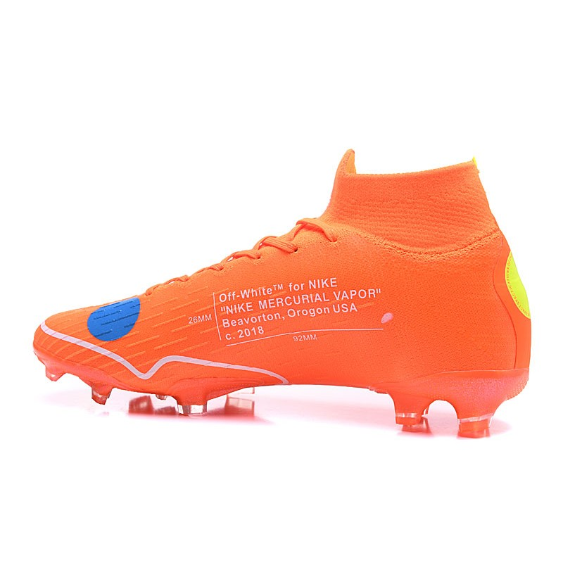 Nike Off-white Mercurial Superfly 6 Elite FG 2018 Scarpe da Calcio ... 976f86326ed