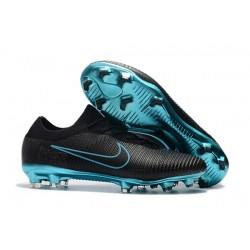 Nike Scarpe da Calcio Mercurial Vapor Flyknit Ultra FG - Nero Blu