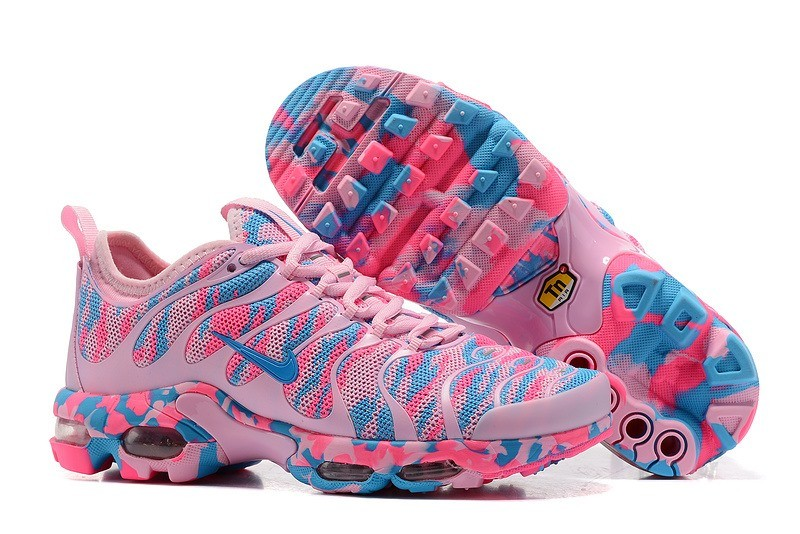 newest 26ab4 cc7f7 Nike Air Max Plus TN Ultra Donna Scarpa - Camo Rosa Blu