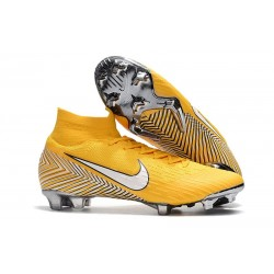 Nike Mercurial Superfly 6 Elite FG 2018 Scarpe da Calcio -Neymar Giallo