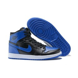 Scarpa Alta Nike Air Jordan I Retro High - Blu Nero