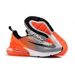 Nike Air Max 270 Scarpe da Uomo Coppa del Mondo Grigio Arancio