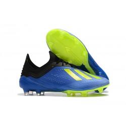 adidas X 18.1 FG Scarpa da Calcio Uomo - Blu Verde