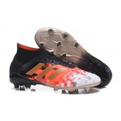 Adidas Scarpe da Calcio Predator 18.1 FG Telstar Nero Oro Rosso