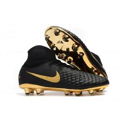 Nike Magista Obra 2 FG ACC Scarpa da Calcio - Nero Oro