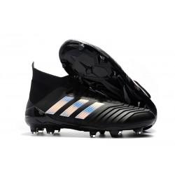 Adidas Scarpe da Calcio Predator 18.1 FG Nero Argento