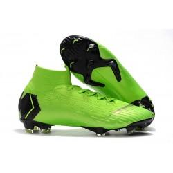 Scarpa Nuovo Nike Mercurial Superfly Vi Elite CR7 FG - Verde Nergo