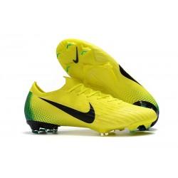 Nike Nuovo Scarpe da Calcio Mercurial Vapor XII Elite FG - Giallo Nero