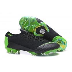 Nike Nuovo Scarpe da Calcio Mercurial Vapor XII Elite FG - Nero Verde