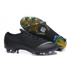 Nike Nuovo Scarpe da Calcio Mercurial Vapor XII Elite FG - Nero Bianca