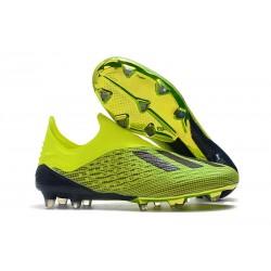 Scarpa da Calcio adidas X 18+ FG Uomo - Verde Nero