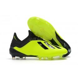 adidas X 18.1 FG Scarpa da Calcio Uomo - Giallo Nero