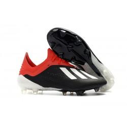 adidas X 18.1 FG Scarpa da Calcio Uomo - Nero Rosso Bianca
