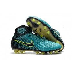 Scarpe da Calcio Uomo Nike Magista Obra II FG - Blu Nero