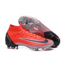 Nike Mercurial Superfly Vi Elite DF FG Scarpe Calcio - Rosso Nero