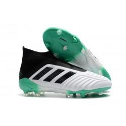 adidas Predator 18+ FG Scarpe da Calcio - Bianca Verde Nero