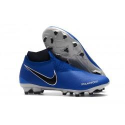 Scarpe da Calcio Nike Phantom Vision DF FG - Blu Argento
