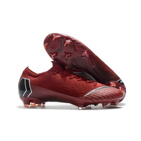 quality design 8ef35 62f0f Scarpa da Calcio Nike Mercurial Vapor XII 360 Elite FG - Rosso Nero