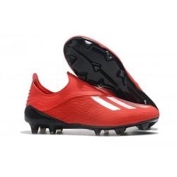 Scarpa da Calcio adidas X 18+ FG Uomo - Rosso Argento