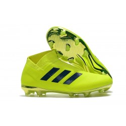 Nuove Scarpe da Calcio Adidas Nemeziz 18+ FG - Verde Nero
