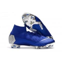 Nike Mercurial Superfly 6 Elite ACC FG Scarpa Uomo - Blu Argento