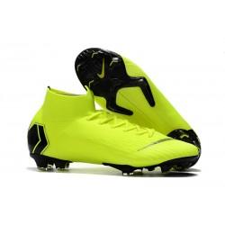 Nike Mercurial Superfly 6 Elite ACC FG Scarpa Uomo - Verde Nero